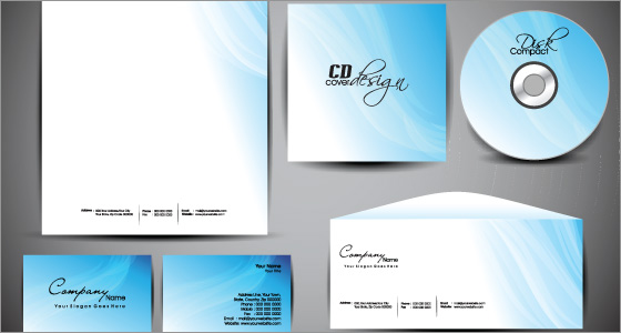 Stationary print design