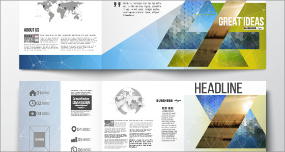 Brochure print design
